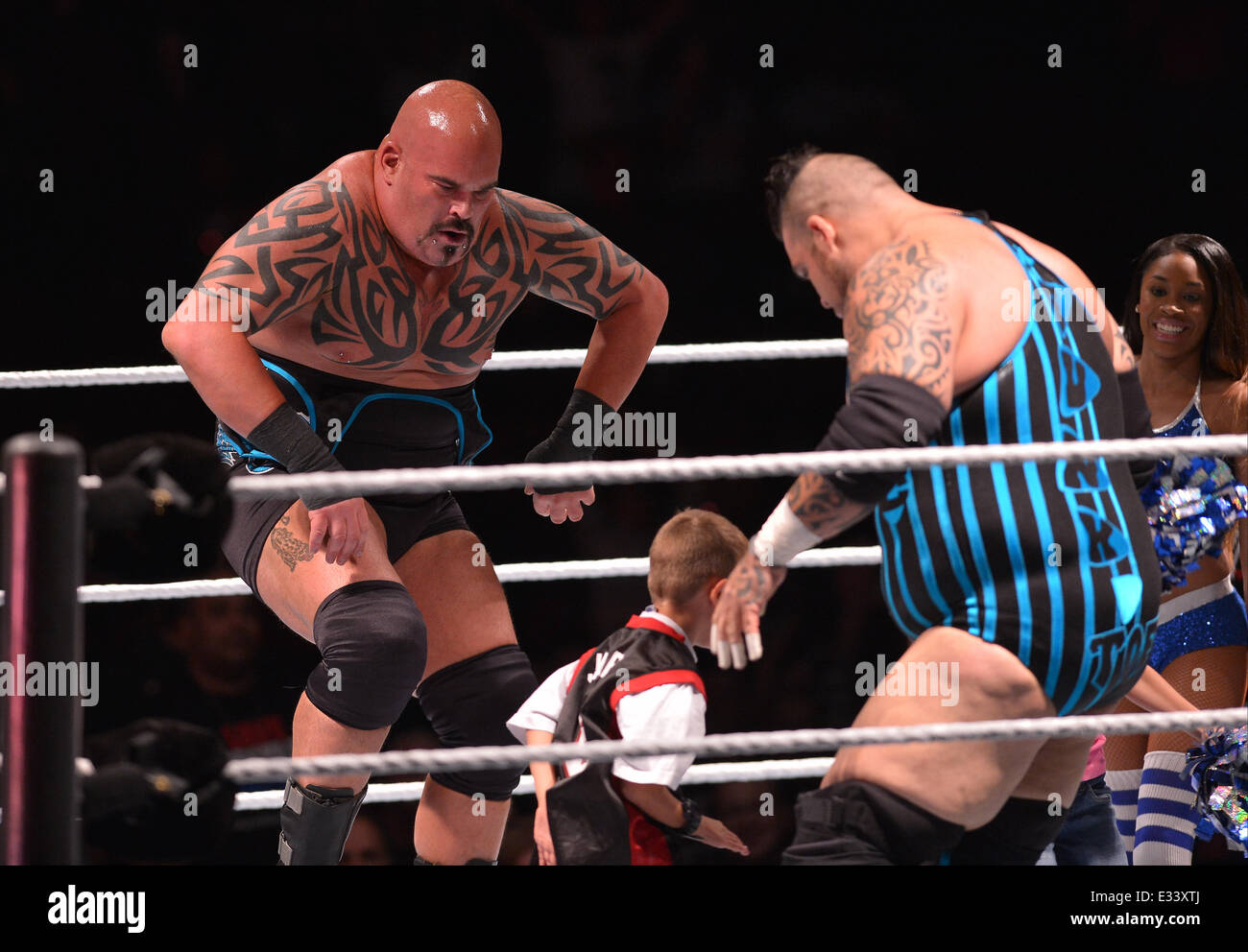 wwe live at bb t center in action during wwe live featuring stock