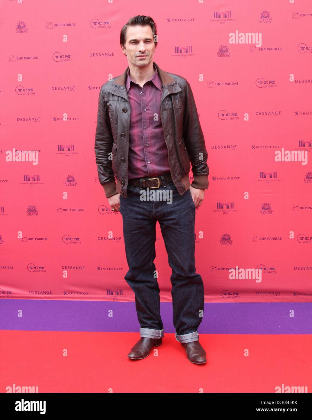 Champs Elysees Film Festival - 'Struck' Premiere at Publicis Champs Elysees  Featuring: Olivier Martinez - Stock Image