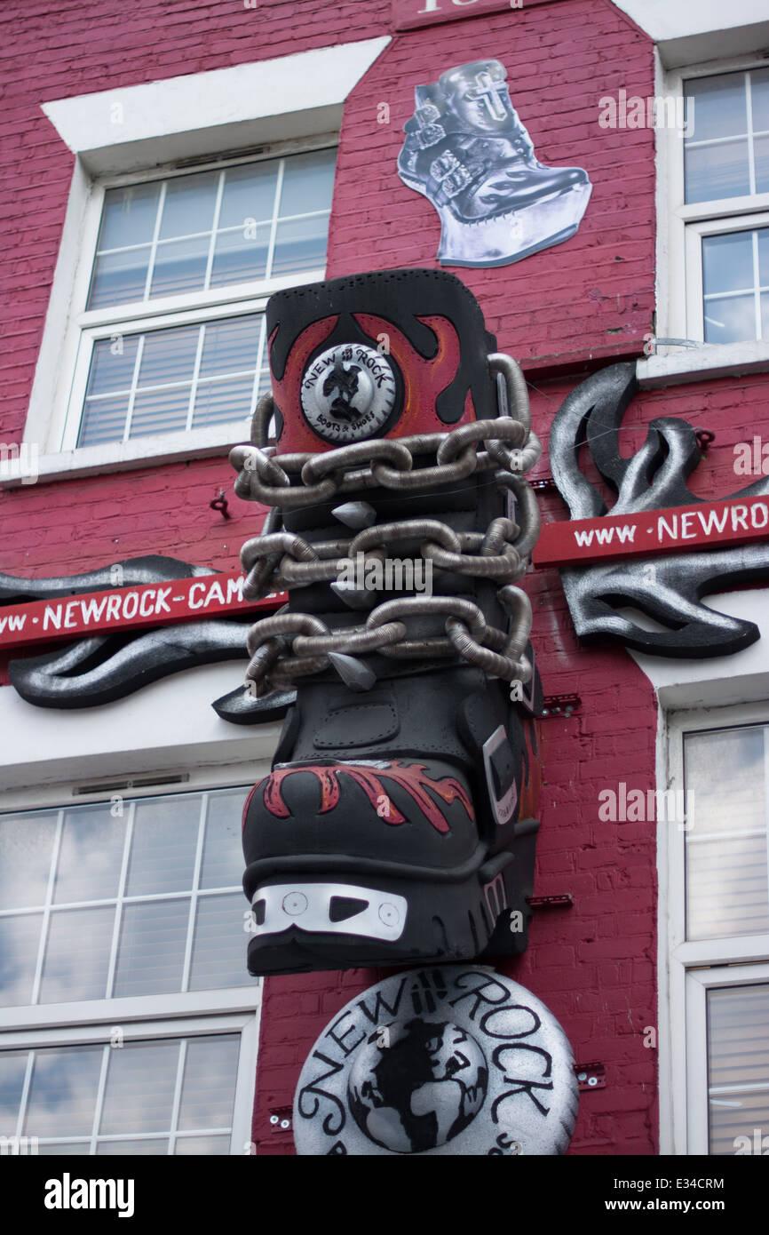 733c3ca75dc5 Shoe Store In Camden Town Stock Photos   Shoe Store In Camden Town ...