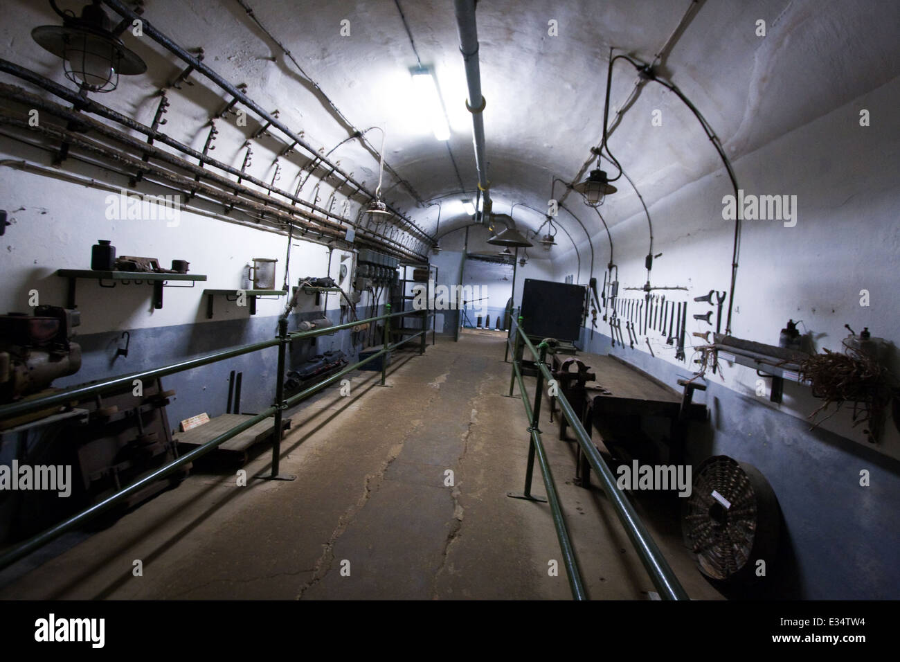 Four a Chaux Maginot Line France fortress in France - Stock Image