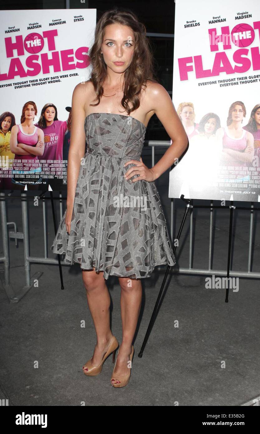 The Los Angeles Premiere Of The Hot Flashes Arrivals Featuring