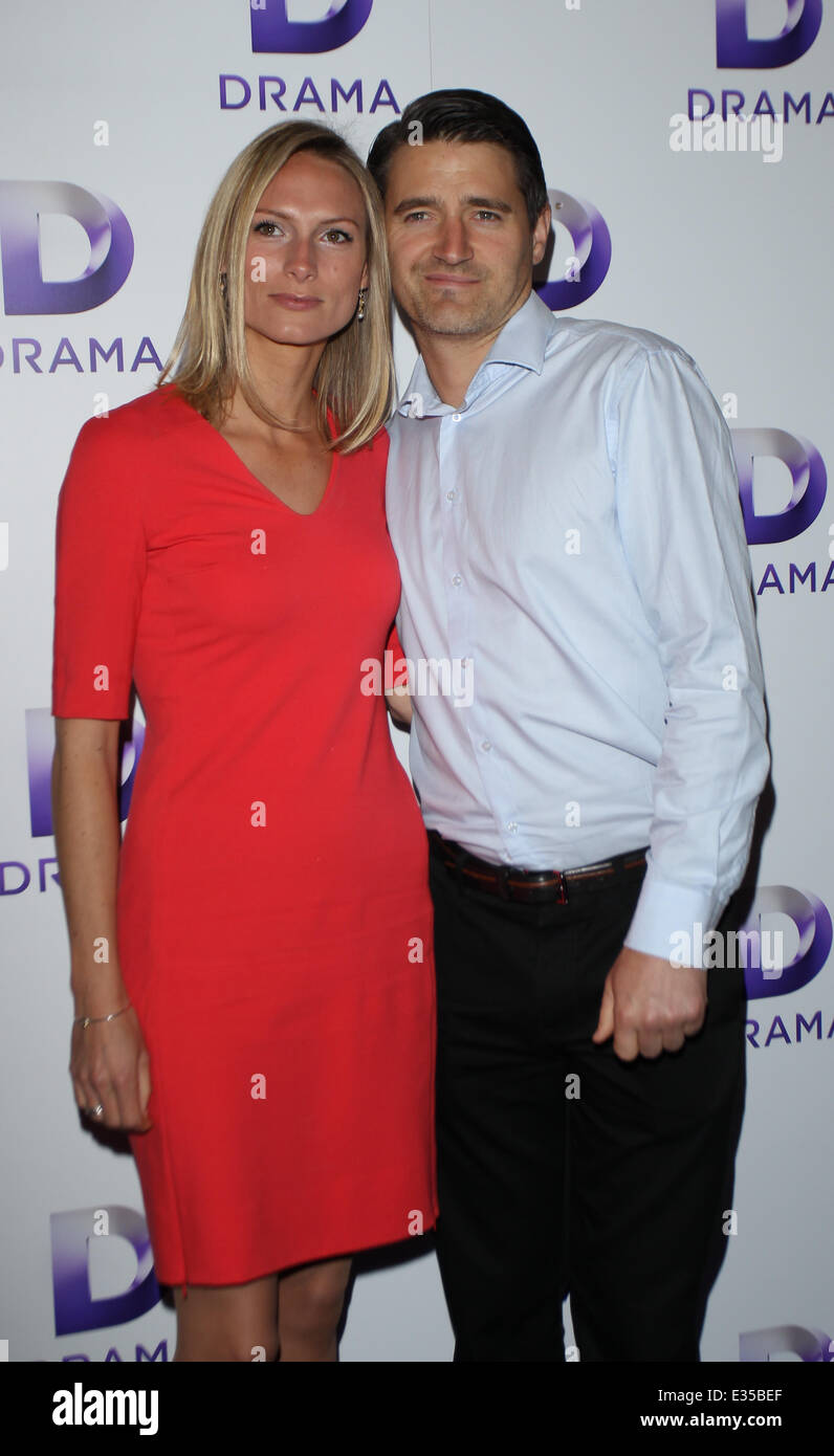 UKTV Drama Channel launch - Arrivals Featuring: Tom Chambers