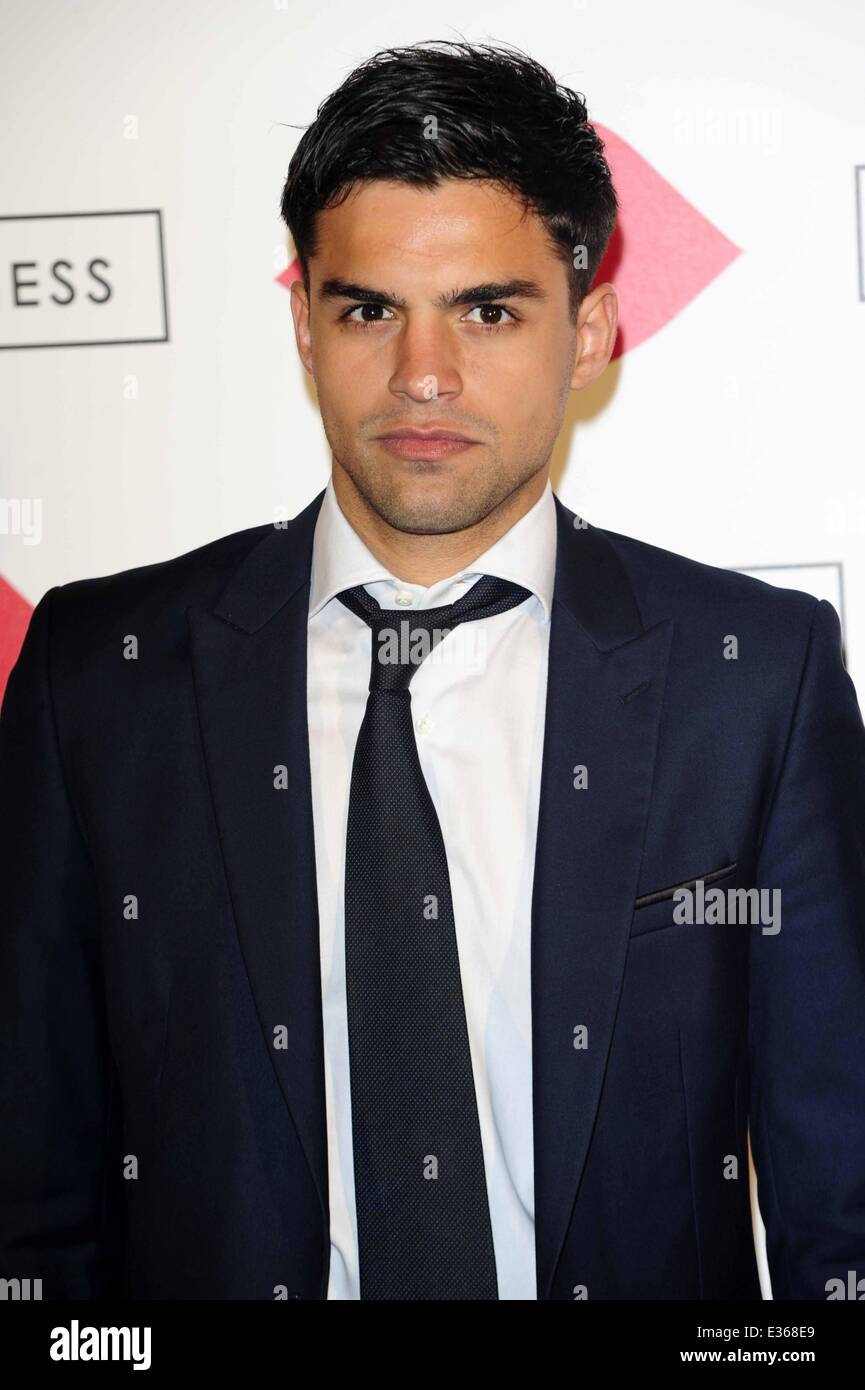 Lulu Guinness Paint Project Party at the Old Sorting Office  Featuring: Sean Teale Where: London, United Kingdom - Stock Image