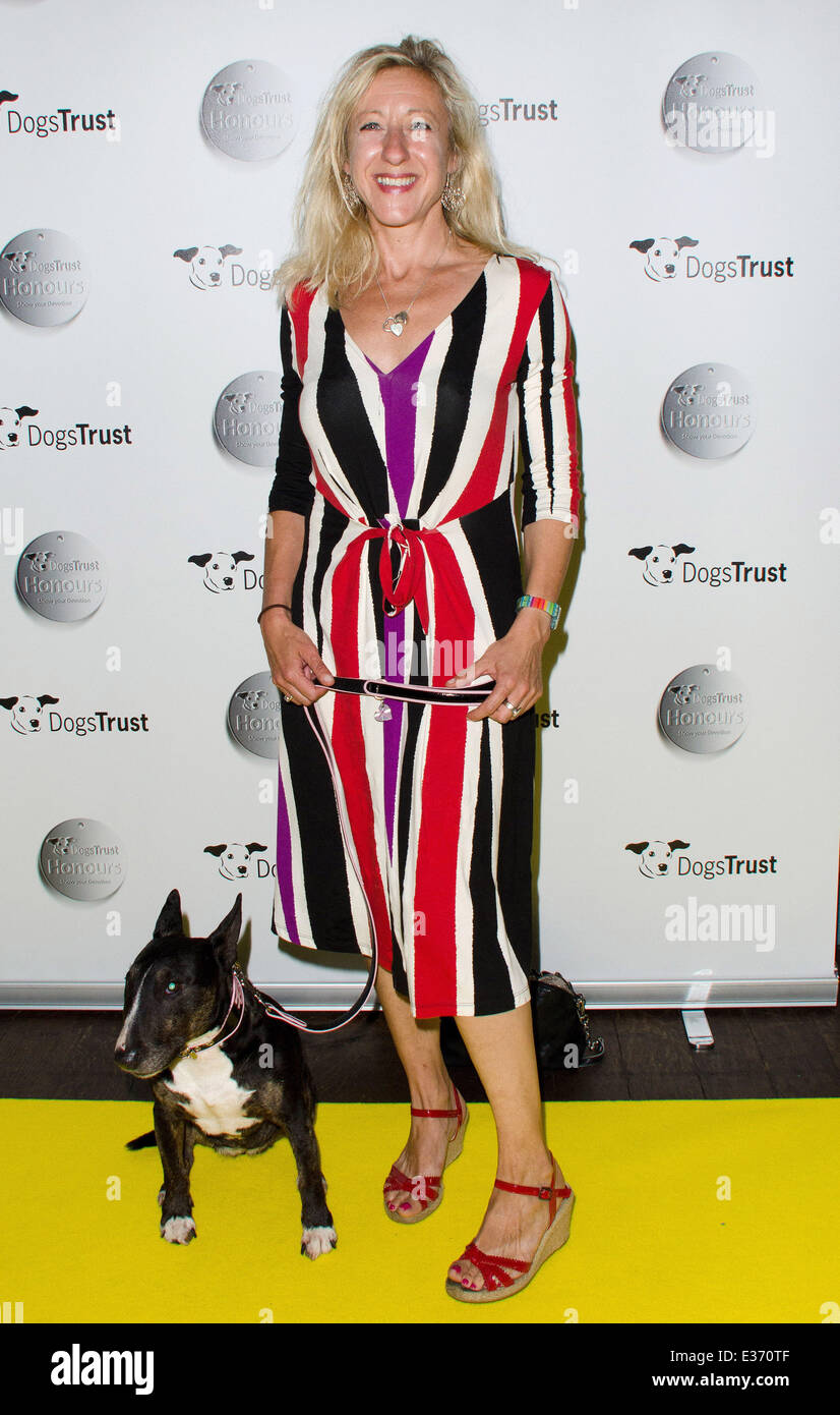Dogs Trust Honours held at Home House - Arrivals  Featuring: Anna Webb Where: London, United Kingdom When: 22 Jul Stock Photo