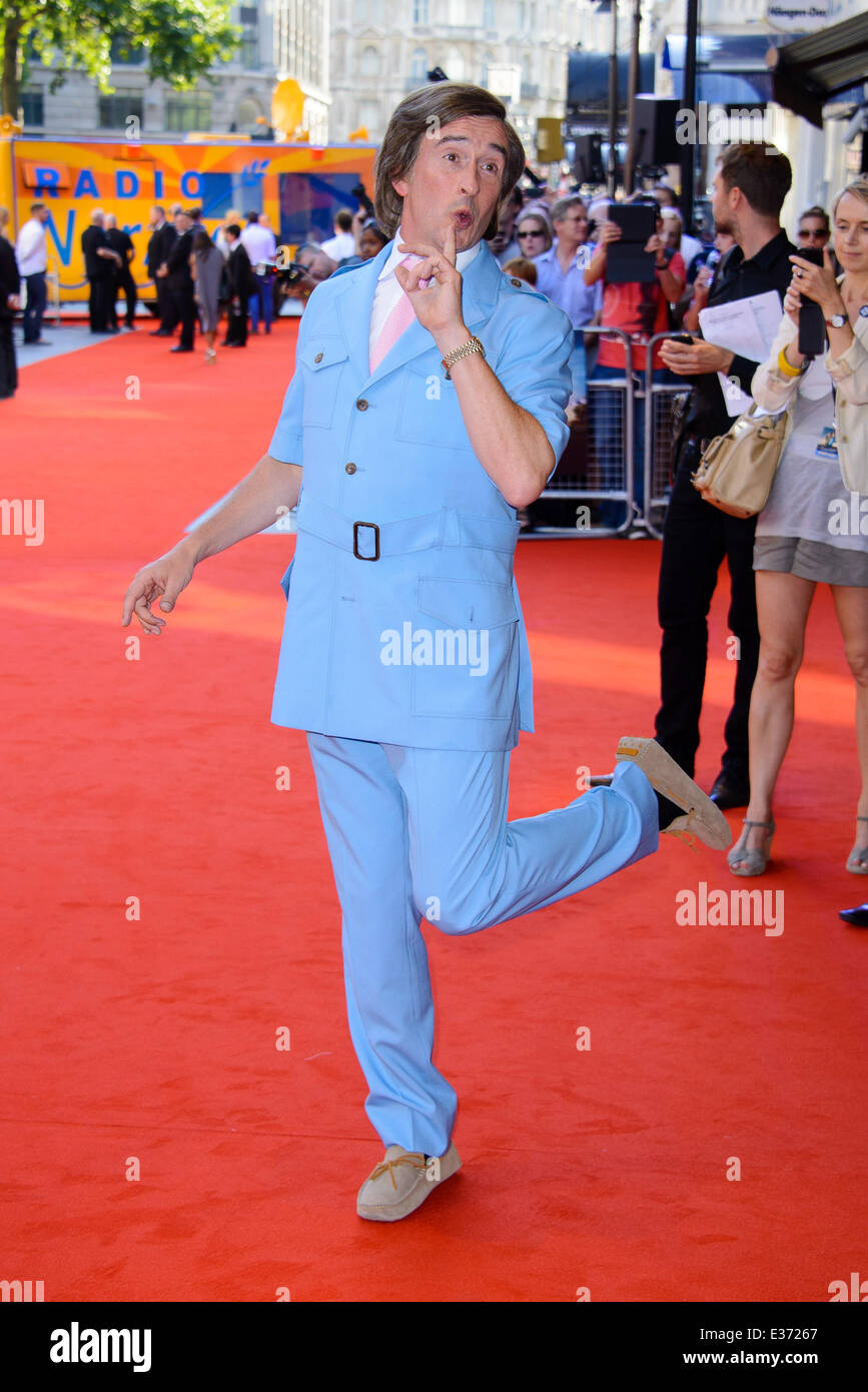 London premiere of 'Alan Partridge: Alpha Papa' held at the VUE West End - Arrivals  Featuring: Steve Coogan - Stock Image