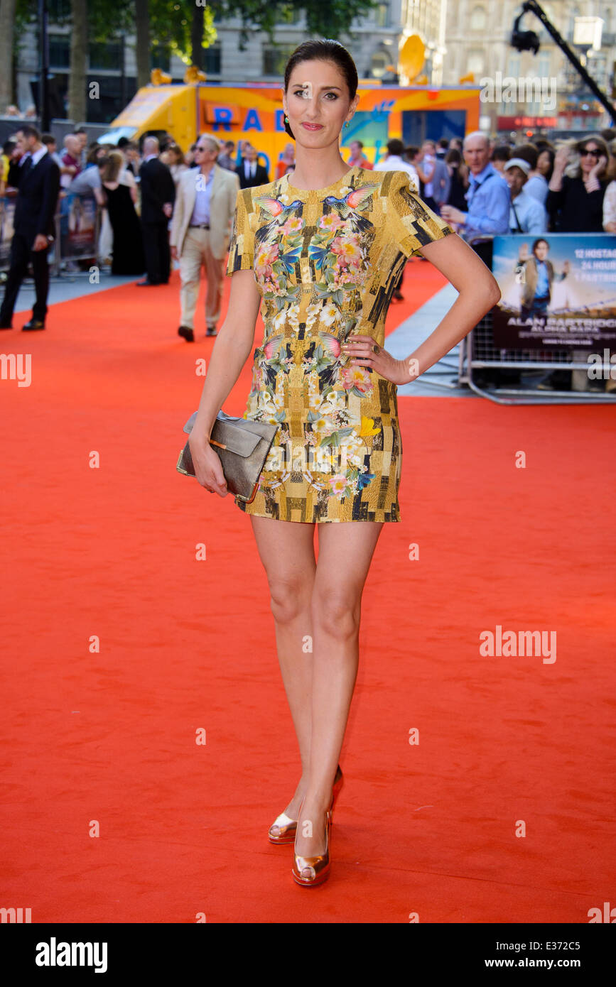 London premiere of 'Alan Partridge: Alpha Papa' held at the VUE West End - Arrivals  Featuring: Jessica - Stock Image