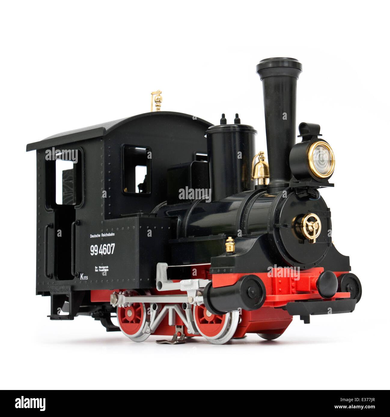 LGB (Lehmann Garden Railway) 92075.5 Dr Class 994607 G-Scale 0-4-0 Tank Locomotive - Stock Image