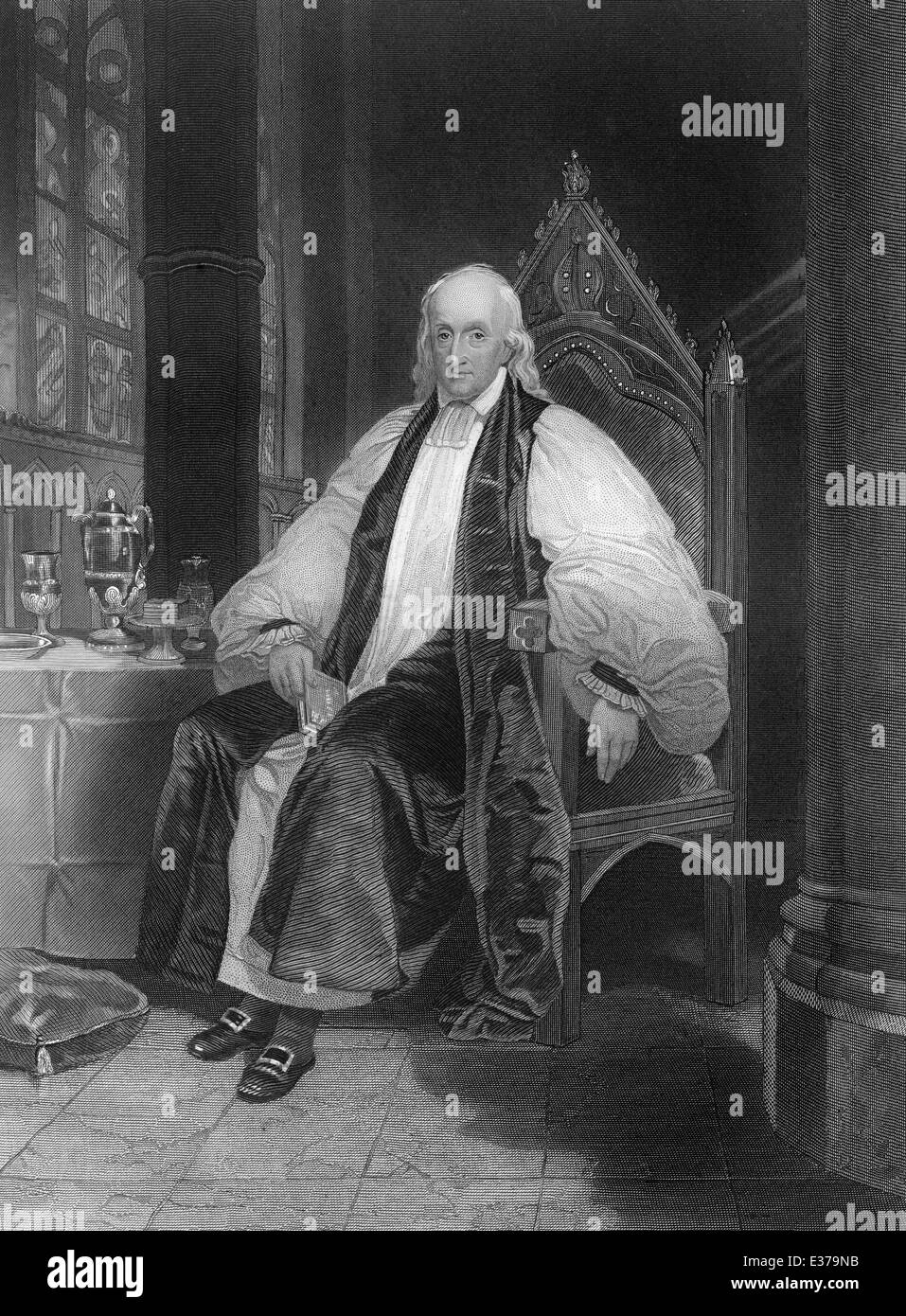 William White, 1748 - 1836, an U.S.-American Clergyman, Bishop of Philadelphia, - Stock Image