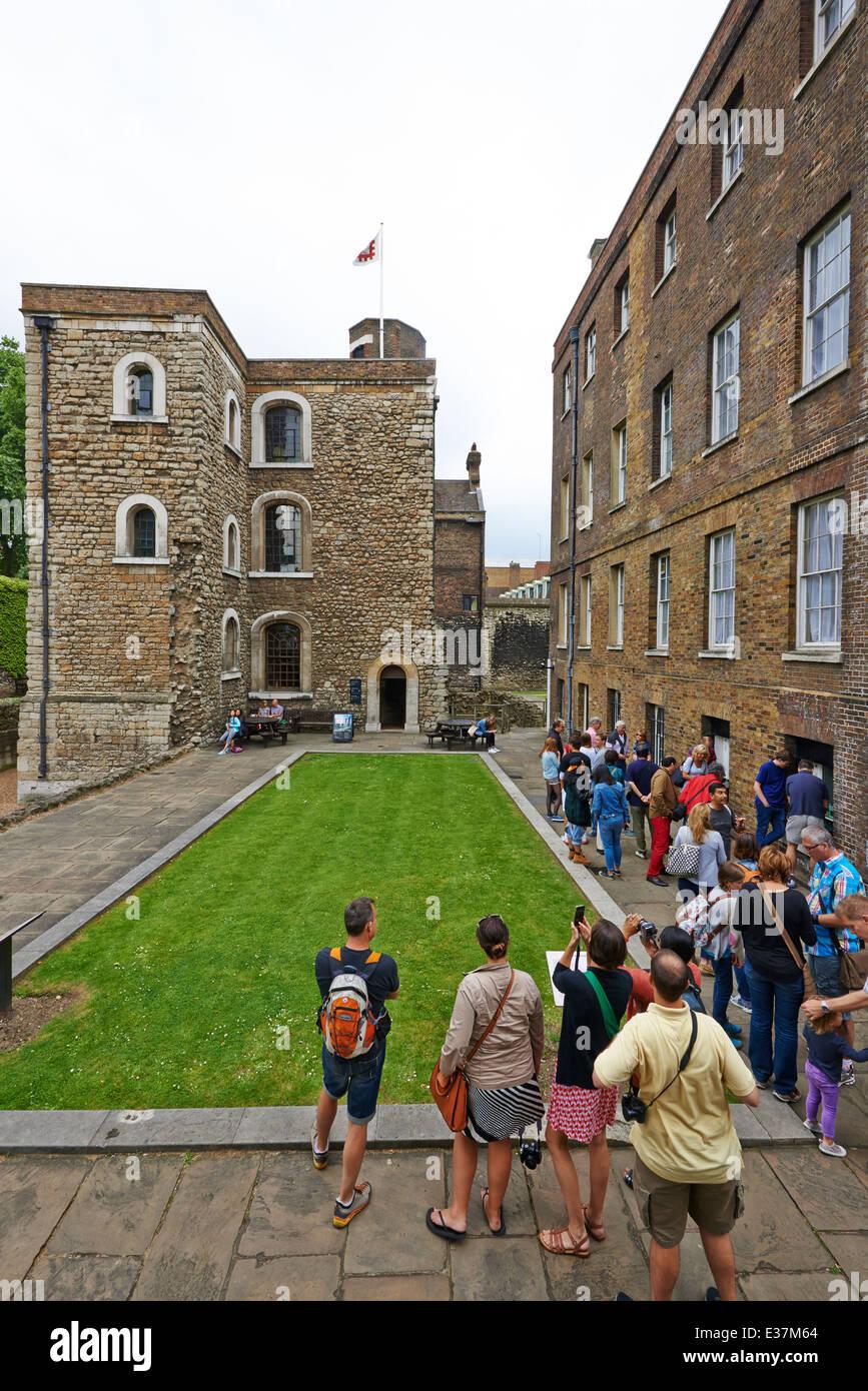 The Jewel Tower Abingdon Street Westminster London UK - Stock Image