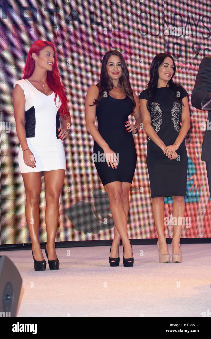 Size: 8 x 10 Eva Marie WWE 2015 Posed Photo