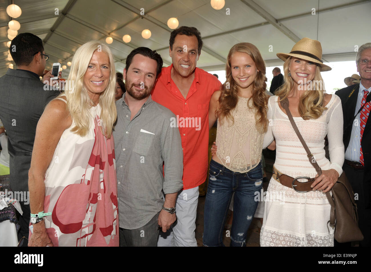 85438be23bc159 Celebrities attends the 38th Annual Hampton Classic Horseshow Featuring  Libby  Edelman