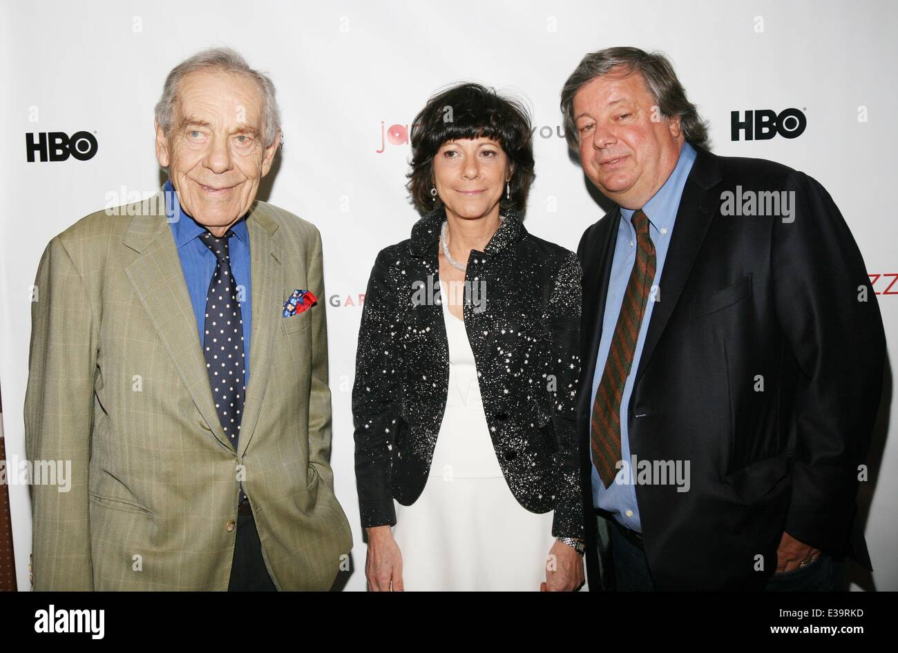 Wynton Marsalis: A YoungArts MasterClass' New York Premiere at Museum of Modern Art  Featuring: Morley Safer,Karen - Stock Image