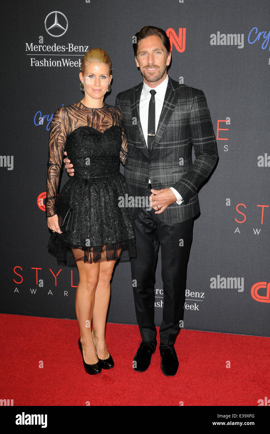 2013 Style Awards Red Carpet Arrivals Featuring Henrik Stock