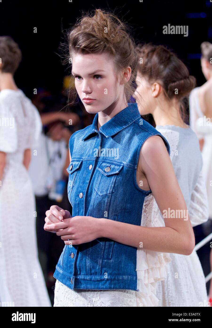 Gabriela Perezutti, Candela Designer Presenting her New Collection at The Box during NYFW in NYC  Featuring: Atmosphere - Stock Image
