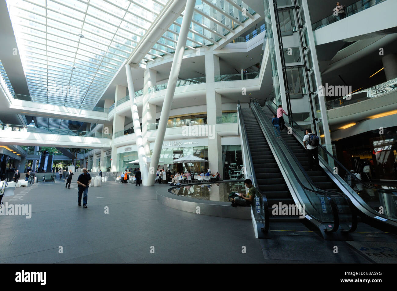 Reforma 222 shopping mall in the upscale Zona Rosa neighborhood of Mexico City, Mexico - Stock Image