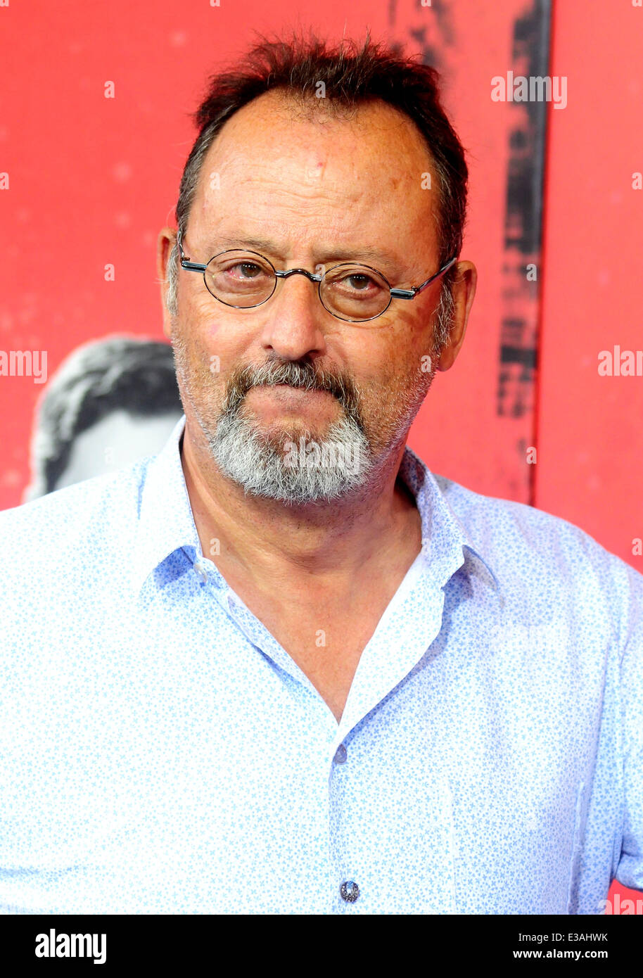 New York premiere of 'The Family'  Featuring: Jean Reno Where: New York City, New York, United States When: - Stock Image