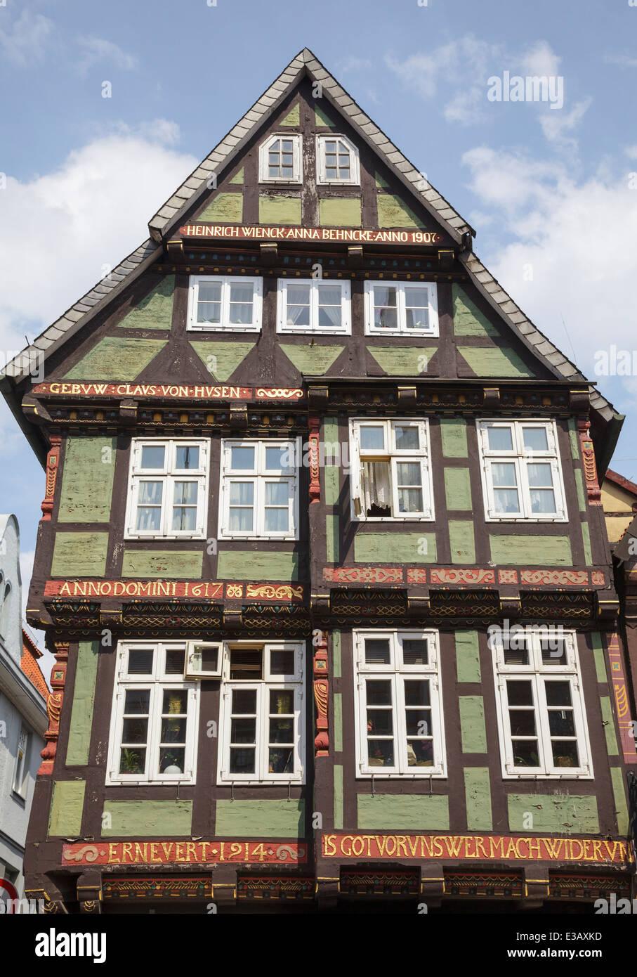 Timber frame building corner of Markt and Neue Strasse