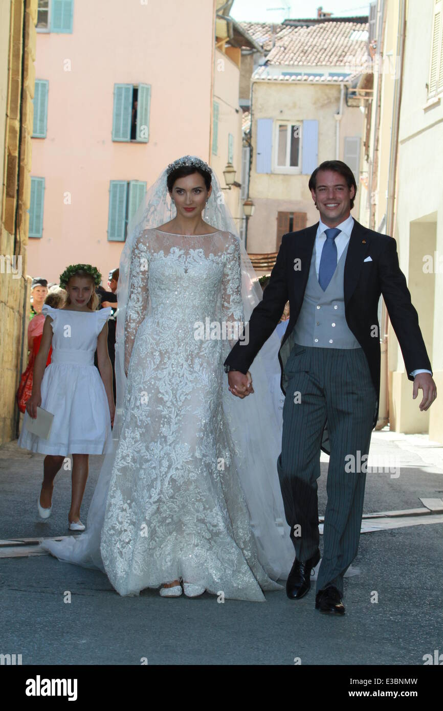 The wedding of Prince Felix of Luxembourg and Claire Lademacher at ...