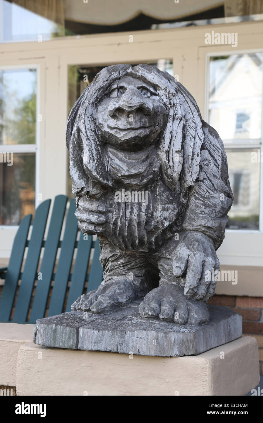 The Mount Horeb area is known as the Troll capital of the