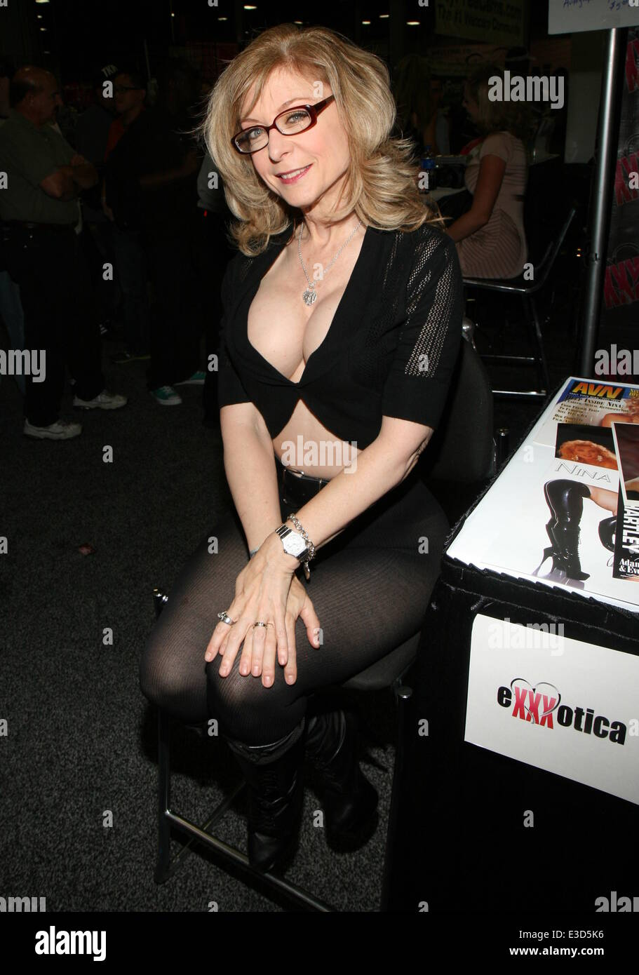 Exxxotica Expo 2013 held at Edison's New Jersey Convention and Exposition  Center Featuring: Nina Hartley