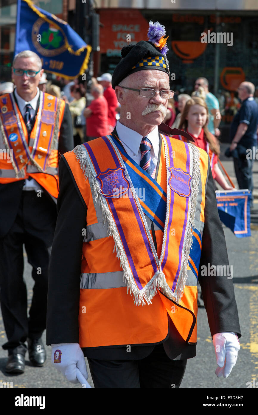 Fully Dressed Collarette Loyal Orange Order Lodge LOL