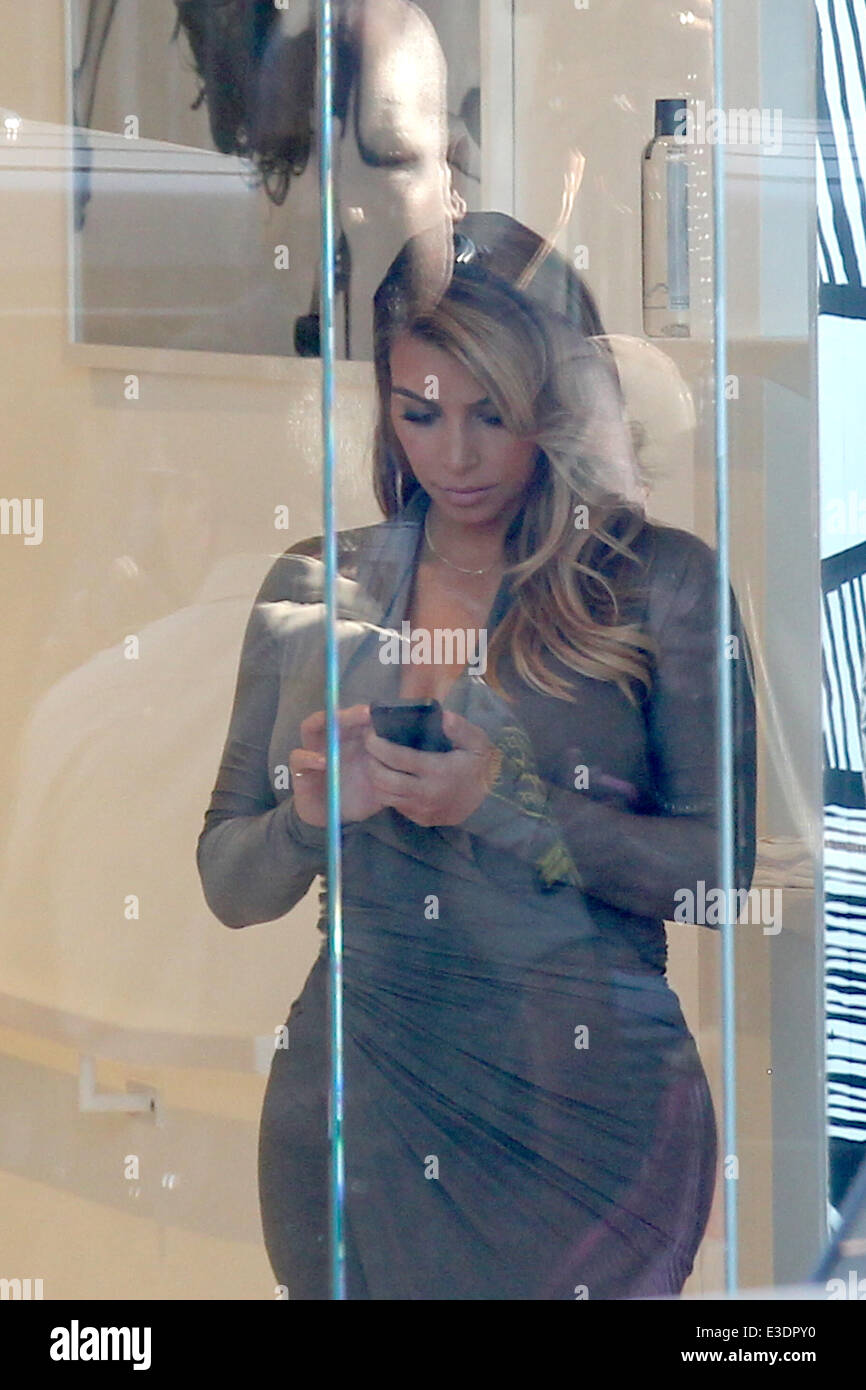 9f076372a8 Keeping Up With The Kardashians filming at Dash Store on Melrose in West  Hollywood Featuring  Kim Kardashian Where  Los Angeles