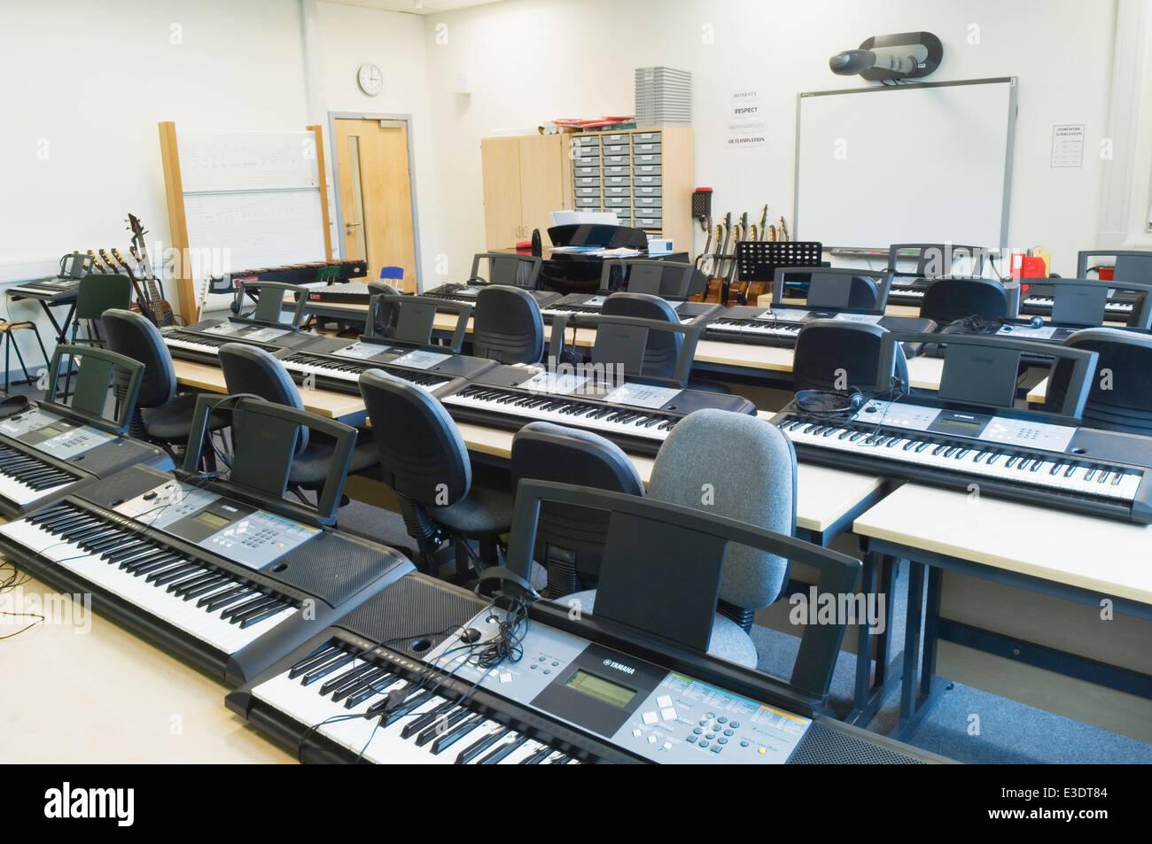 Modern High School Classroom : High school classroom door