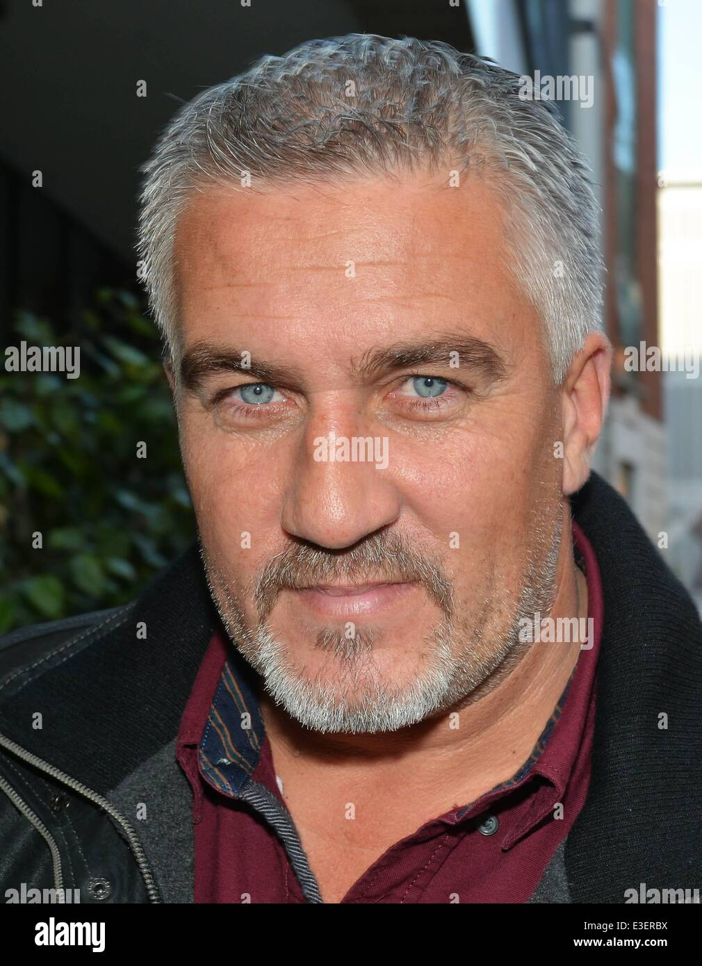 Great British Bake Off celebrity chef Paul Hollywood at ...