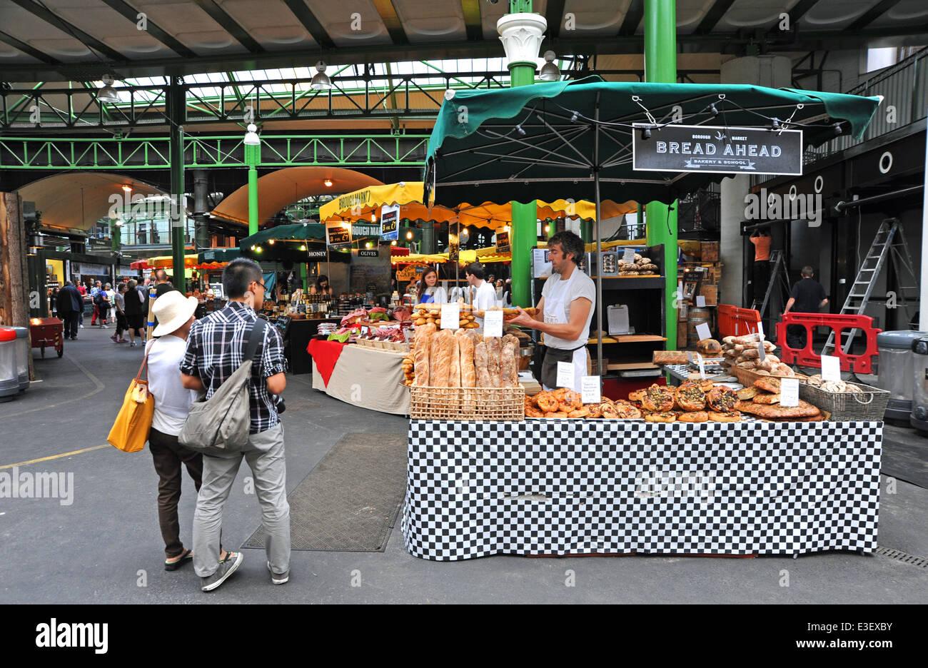 London Borough Market UK - Stock Image