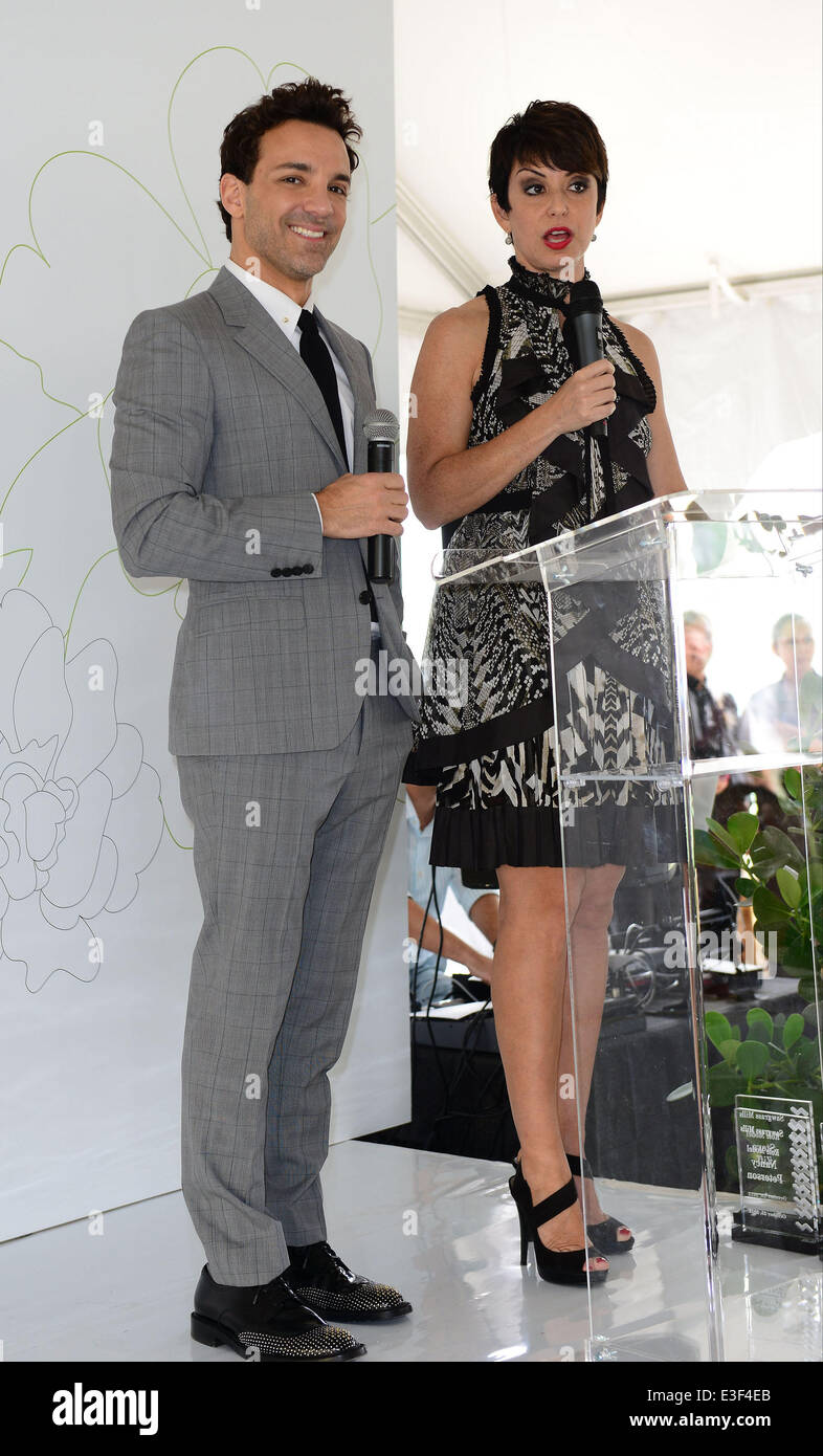 George Kotsiopoulos makes an appearance at The Colonnade Outlets at the Sawgrass Mills Tour de Fashion at Sawgrass - Stock Image