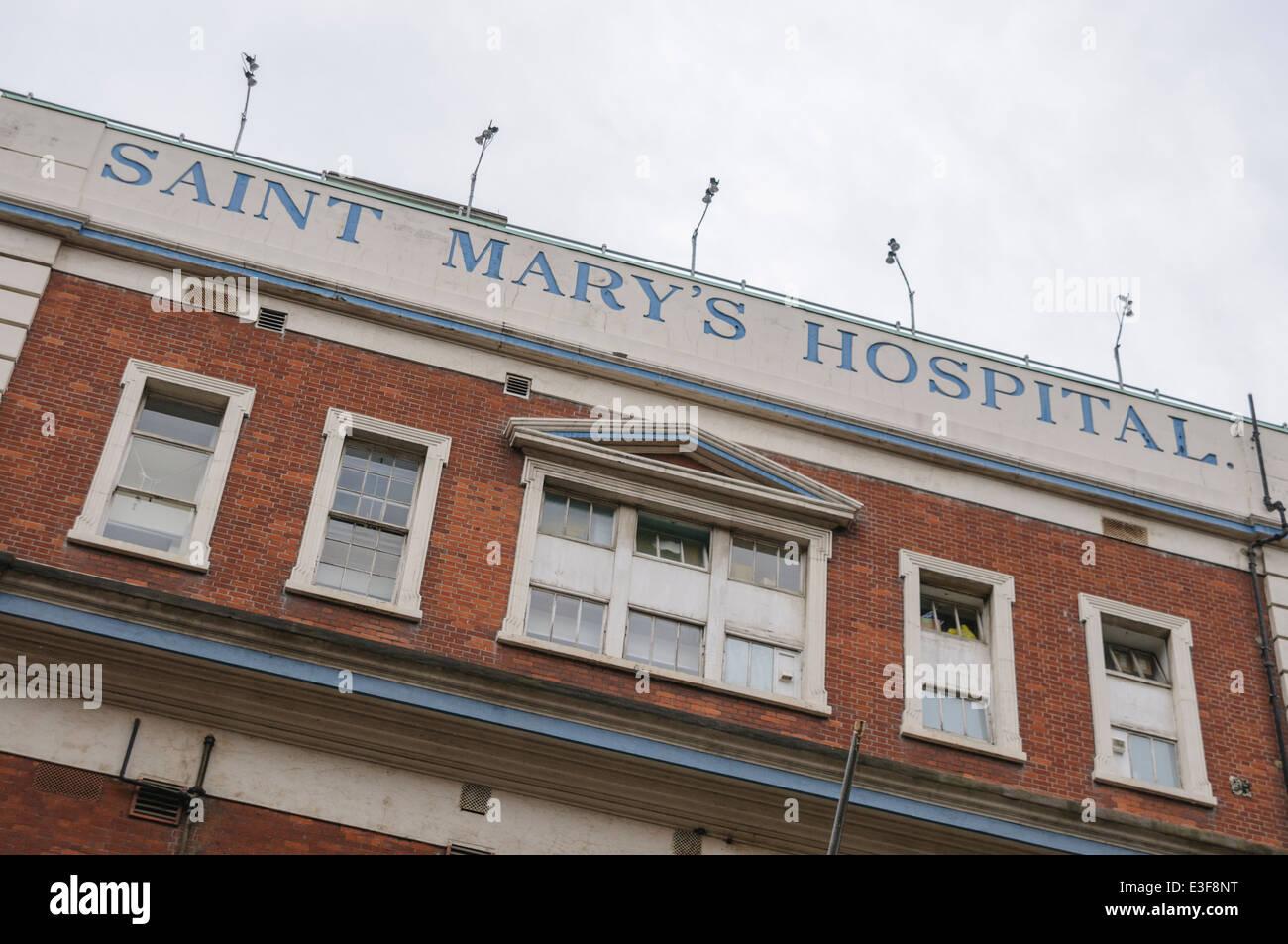St. Mary's Hospital, London Stock Photo