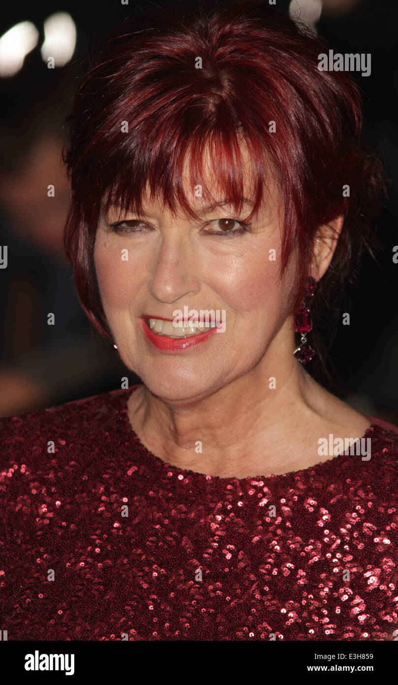 London Evening Standard Theatre Awards held at the Savoy - Arrivals  Featuring: Janet Street Porter Where: London, - Stock Image