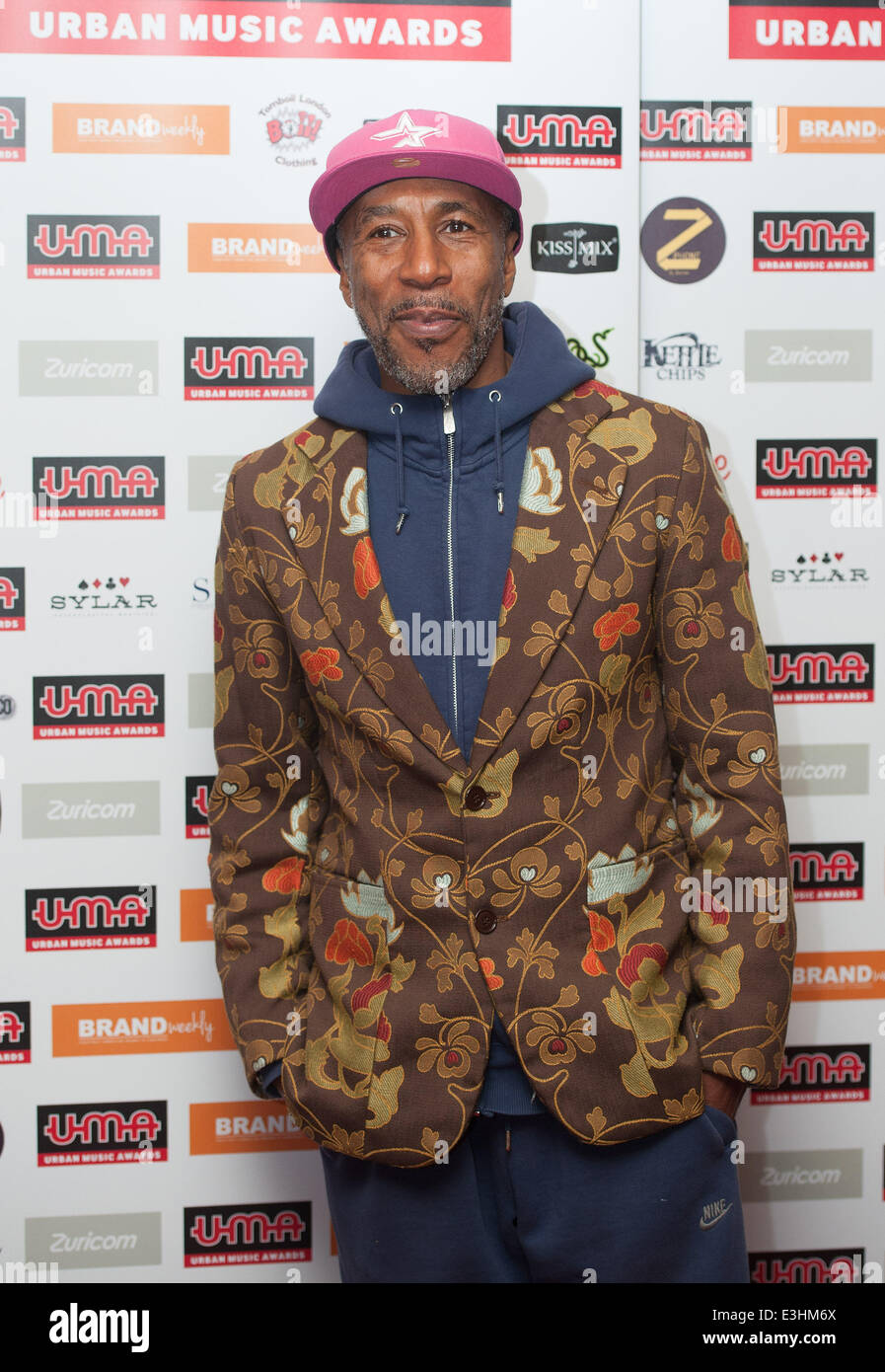 Urban Music Awards 2013 held at Porchester Hall - Arrivals.  Featuring: Danny John-Jules Where: London, United Kingdom - Stock Image