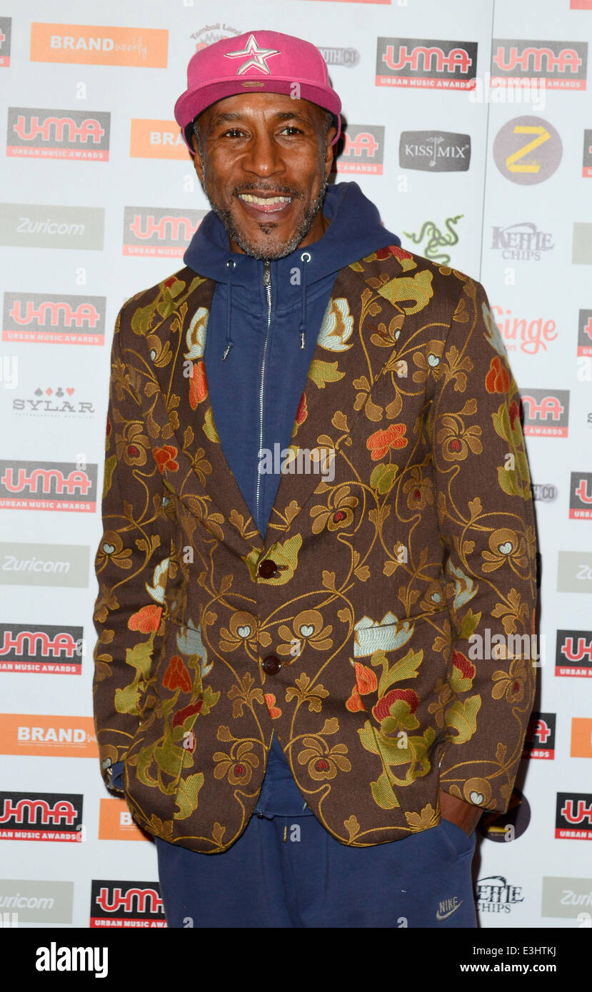 Urban Music Awards 2013 held at Porchester Hall - Arrivals  Featuring: Danny John-Jules Where: London, United Kingdom - Stock Image