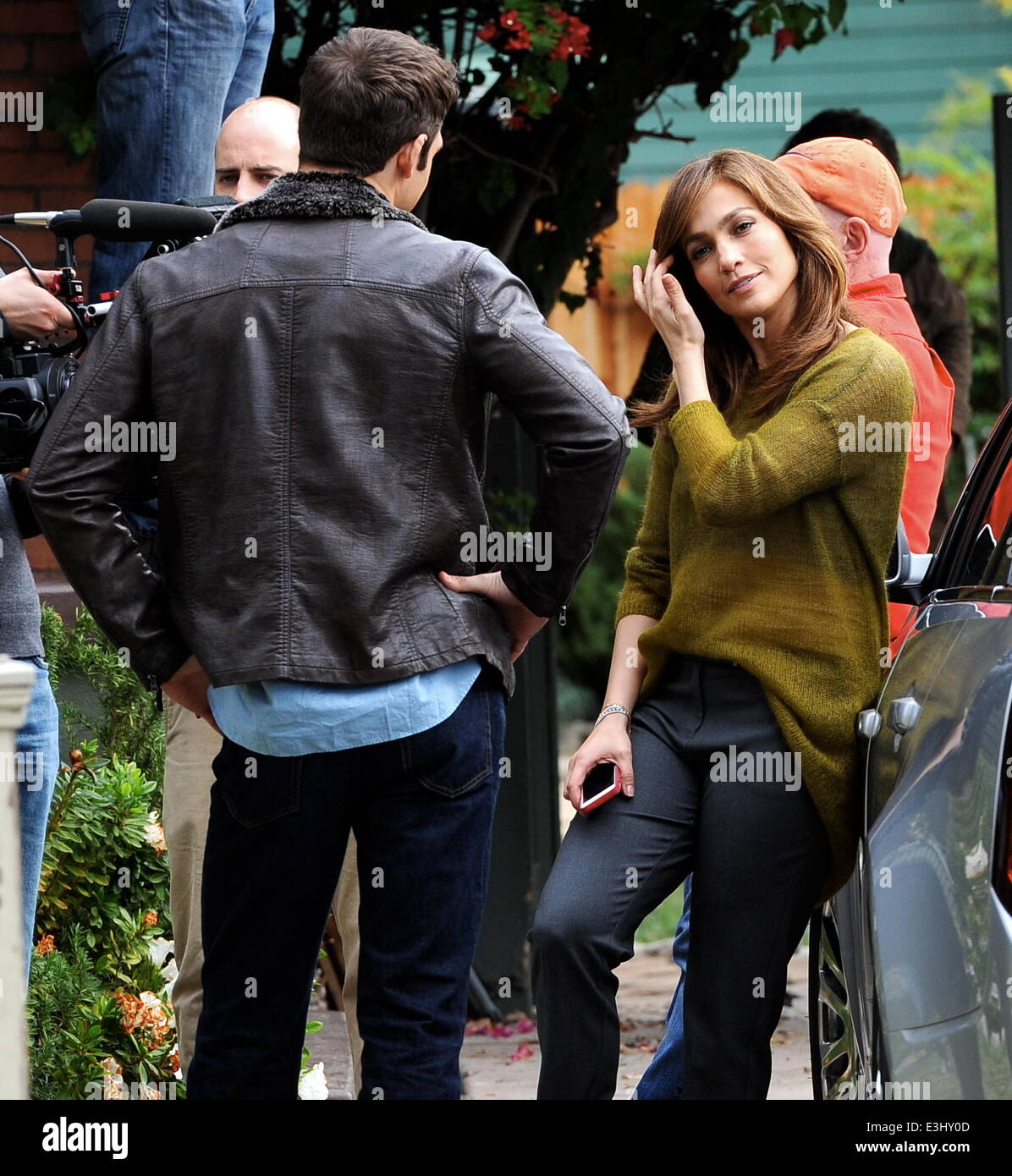 Jennifer Lopez filming scenes for her new movie u0027The Boy Next Dooru0027 with co stars John Corbett and Ryan Guzman in Hollywood Featuring Jennifer LopezRyan ...  sc 1 st  Alamy & Jennifer Lopez filming scenes for her new movie u0027The Boy Next Door ...