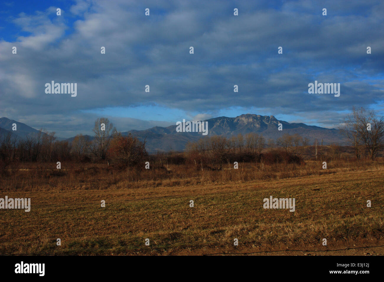Cozia peak, Carpathian mountain, unspoiled place in Romania. Stock Photo