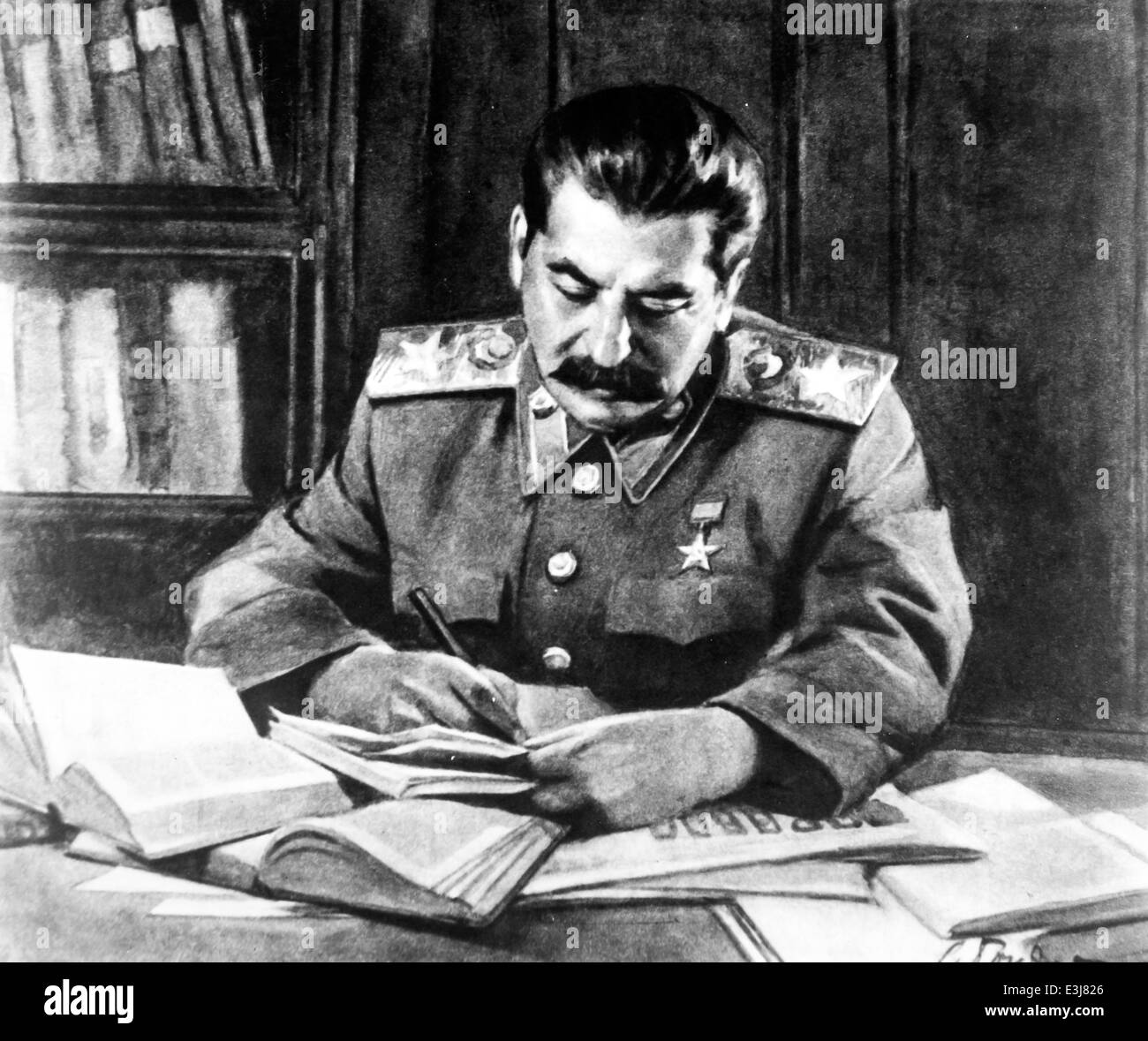 Joseph Stalin,1943 - Stock Image
