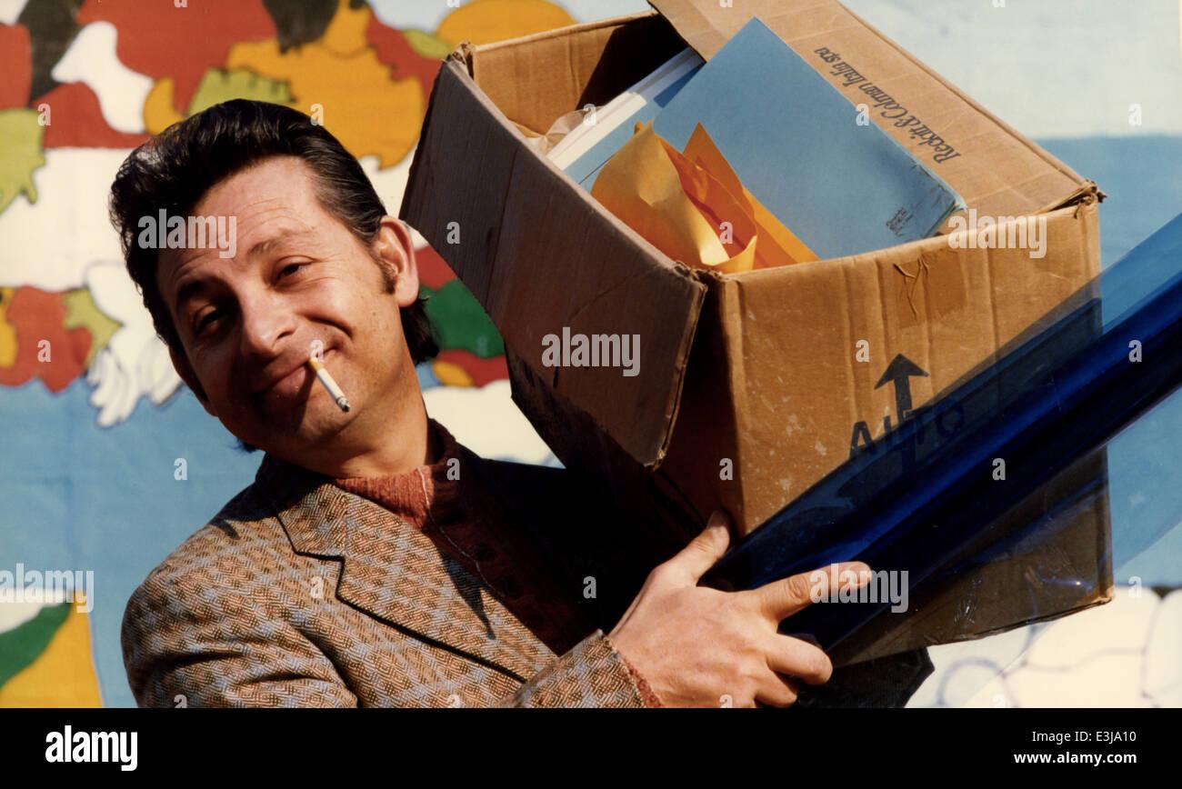 leo gullotta,scugnizzi 1989 - Stock Image