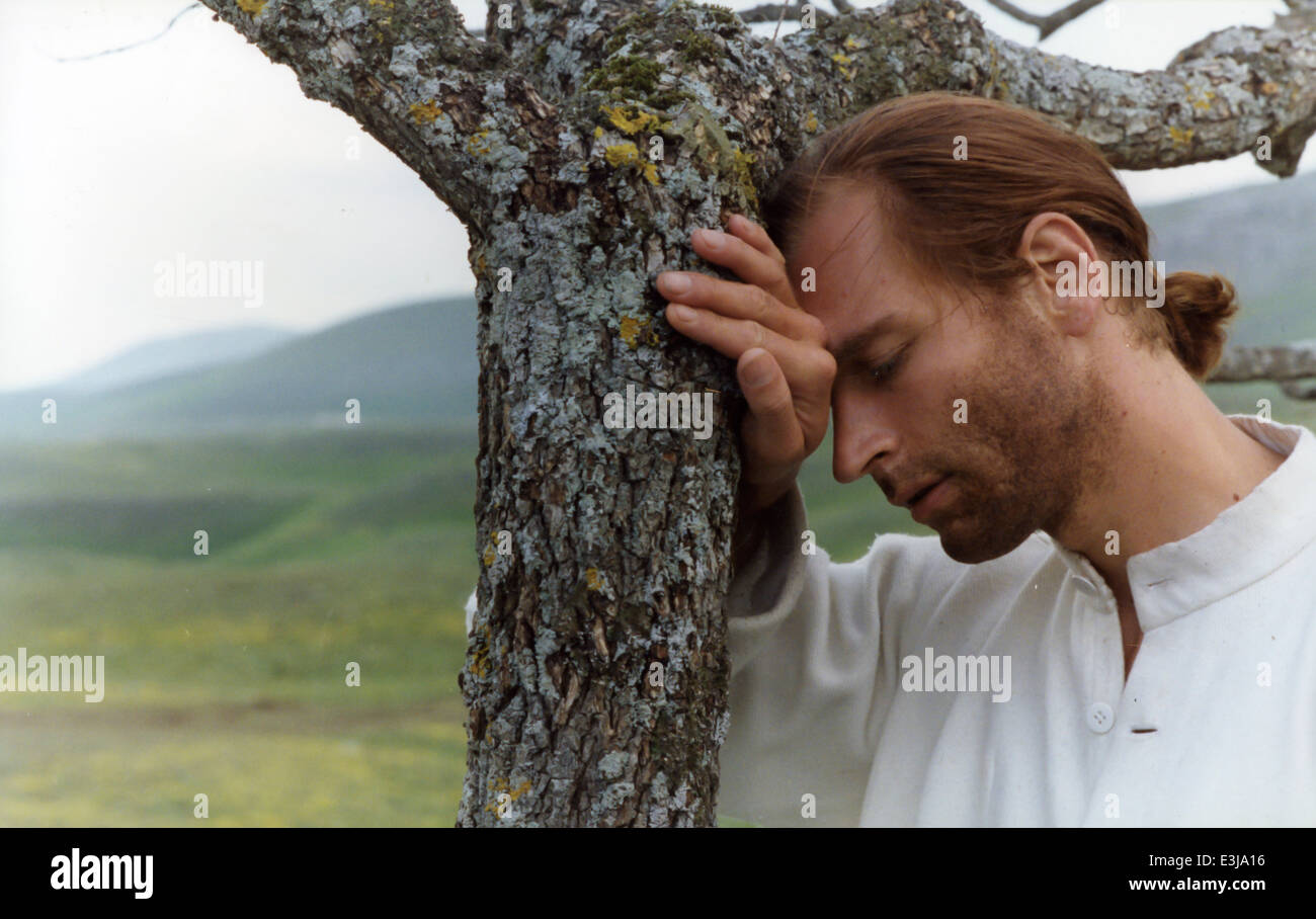 julian sands,The Sun Also Shines at Night, 1990 - Stock Image