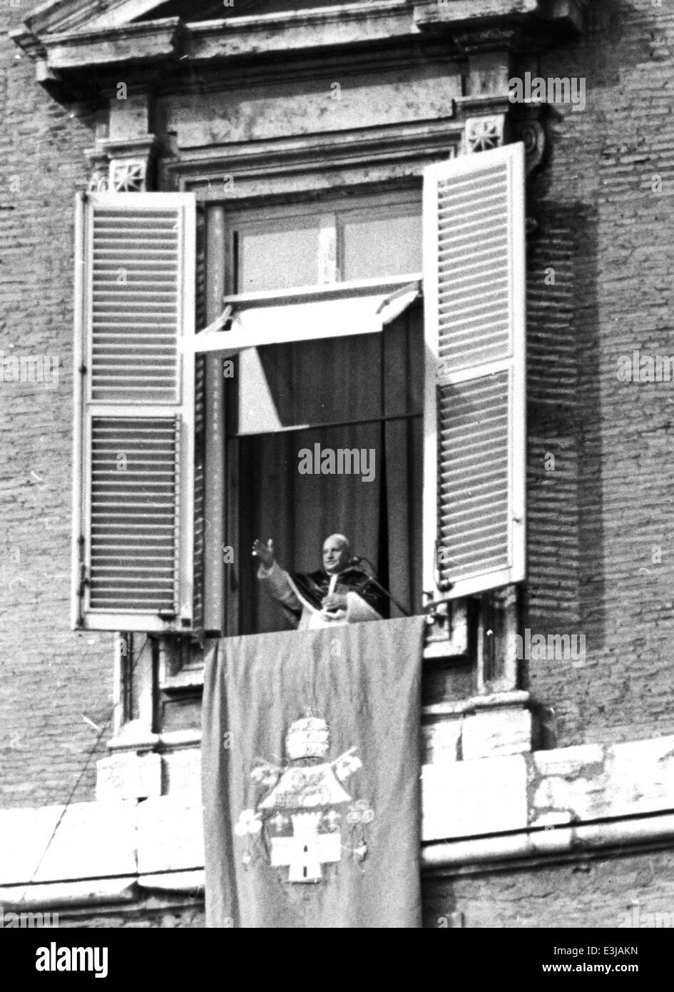 election of Pope John XXIII,1958 - Stock Image
