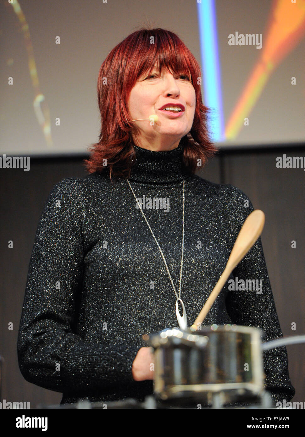BBC Good Food Show Winter at the NEC Birmingham - Day 2  Featuring: Janet Street Porter Where: Birmingham, United - Stock Image