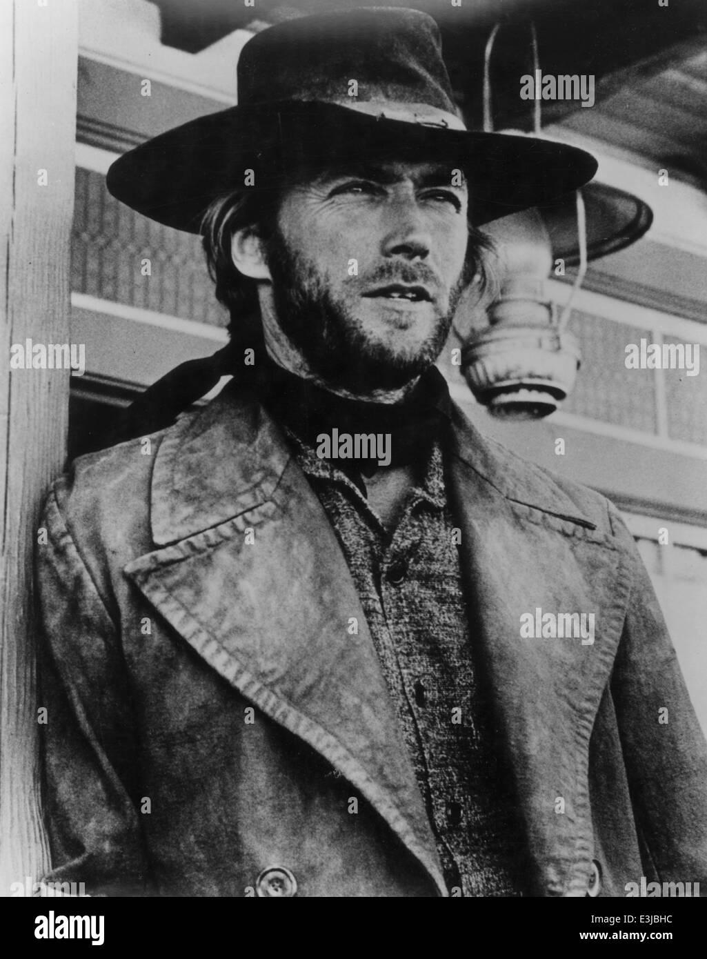 clint eastwood,high plains drifter - Stock Image