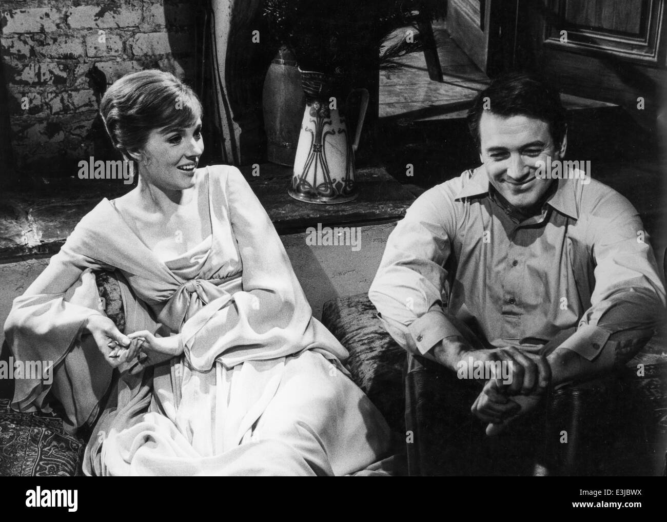 julie andrews,rock hudson,darling lili - Stock Image