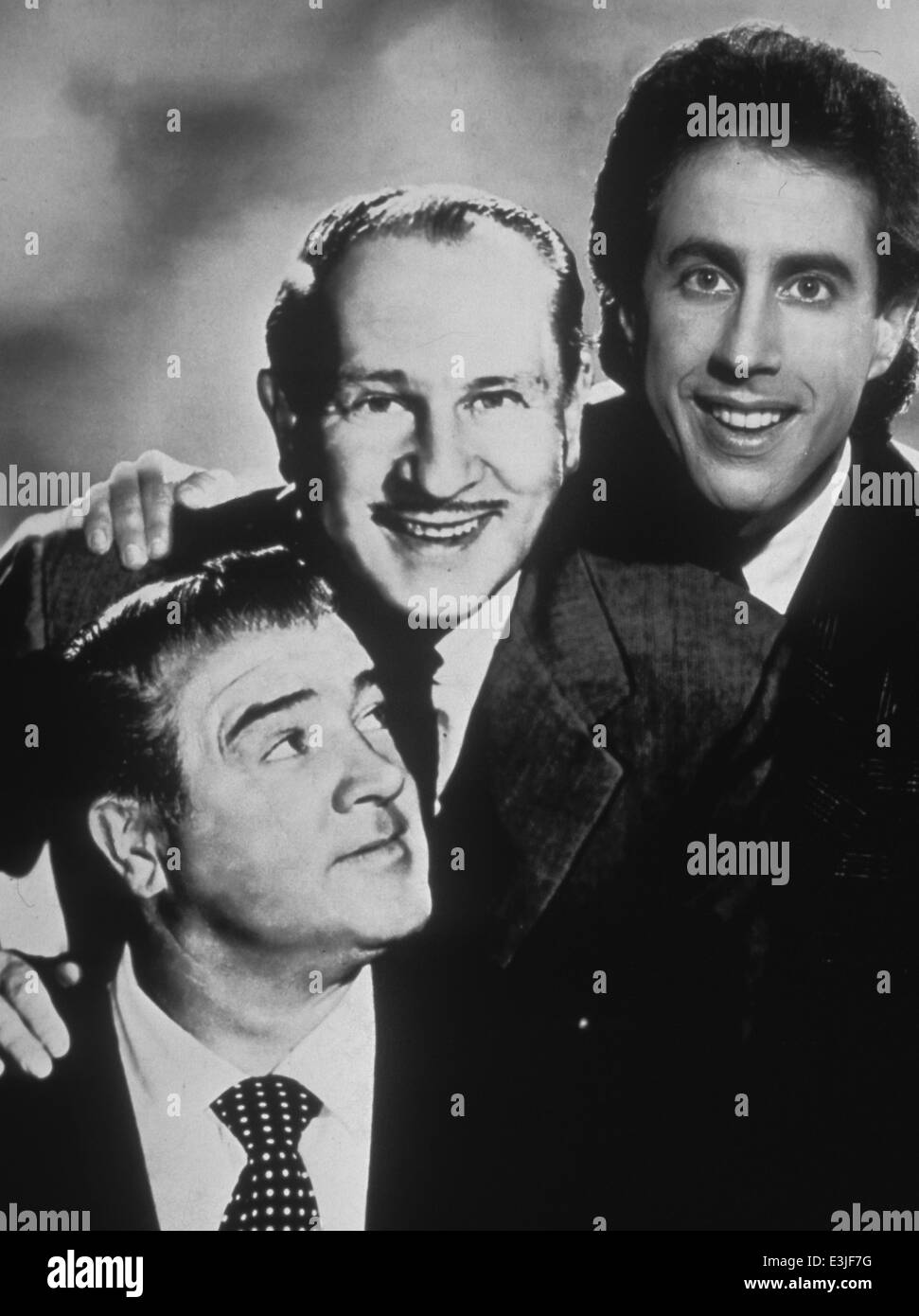 abbott and costello meet jerry seinfeld - Stock Image