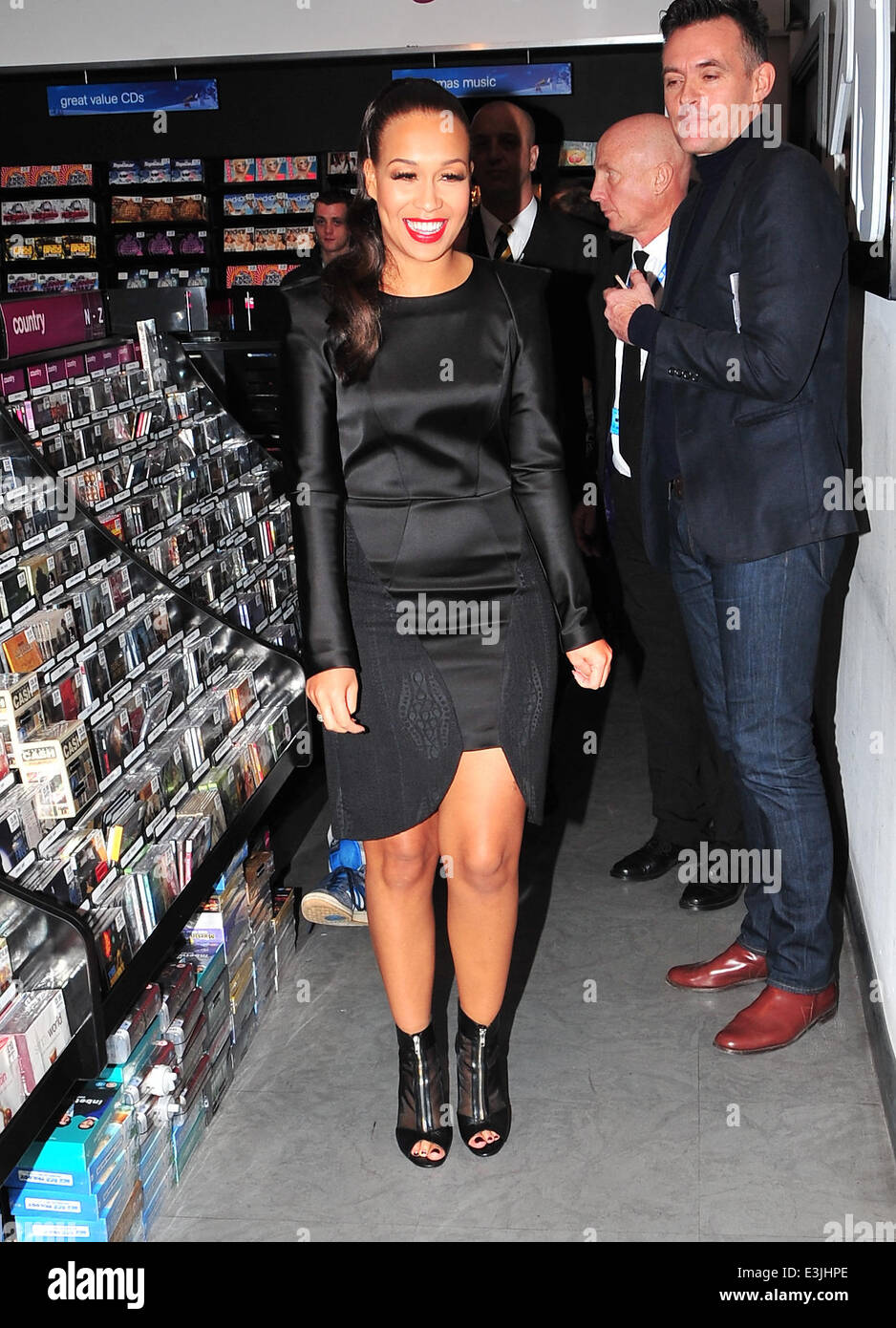 Rebecca Ferguson was at HMV Liverpool in her home city to