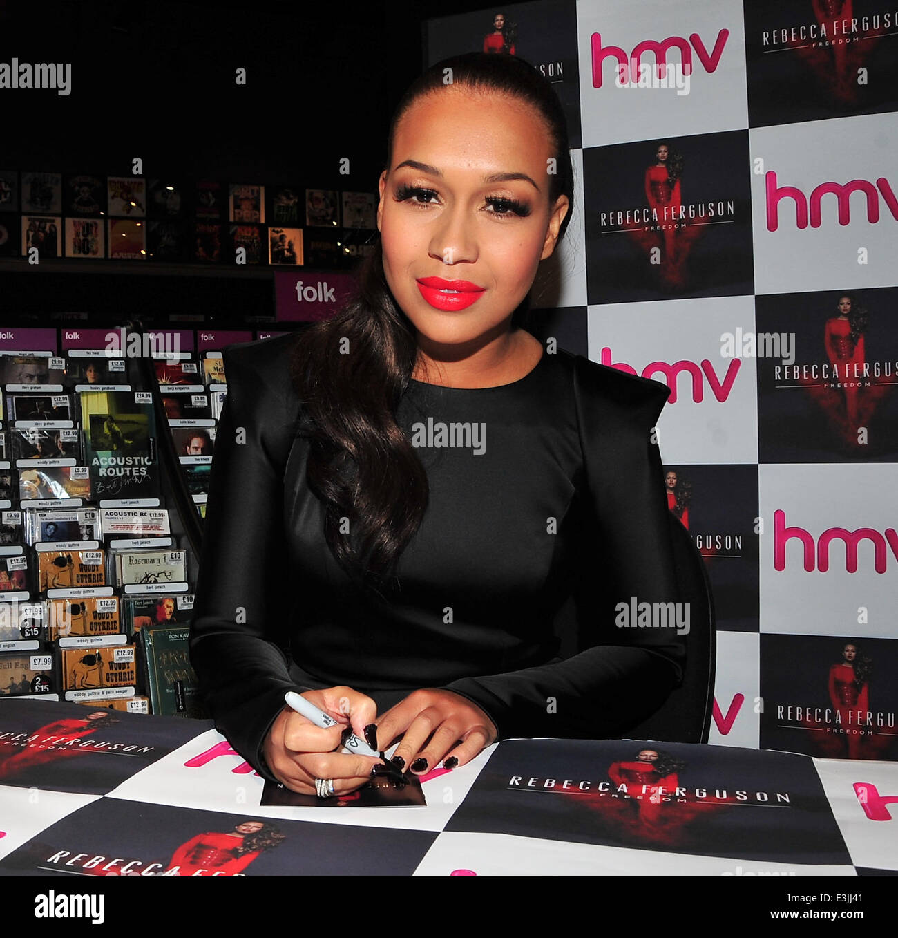 Rebecca Ferguson was in Liverpool to launch her new Album at