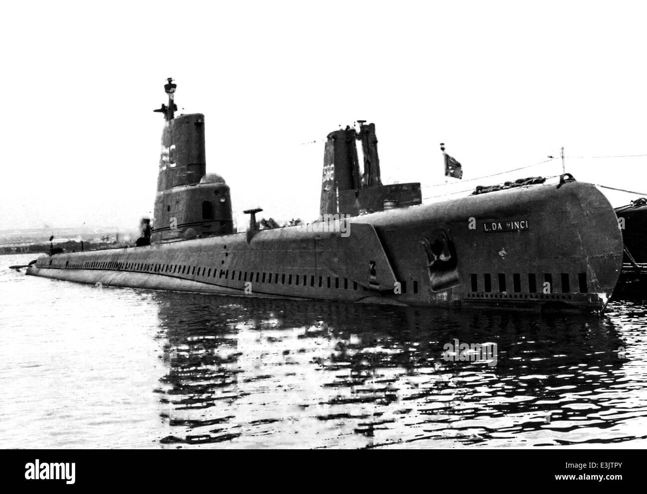 submersible 'leonardo da vinci' - Stock Image