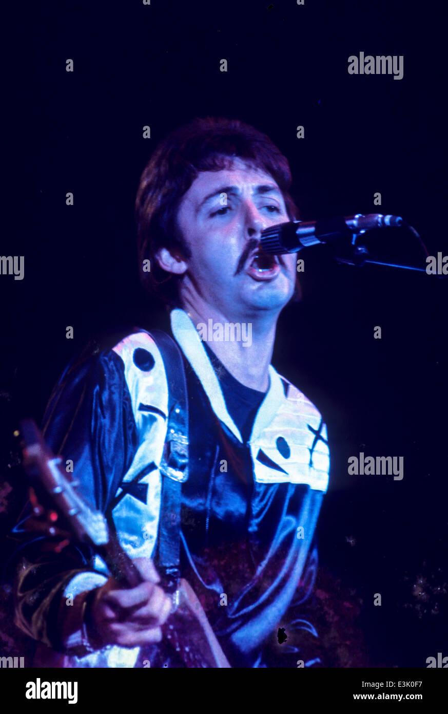 Paul Mccartney Concert Stock Photos