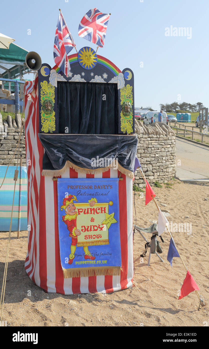 punch and judy - Stock Image