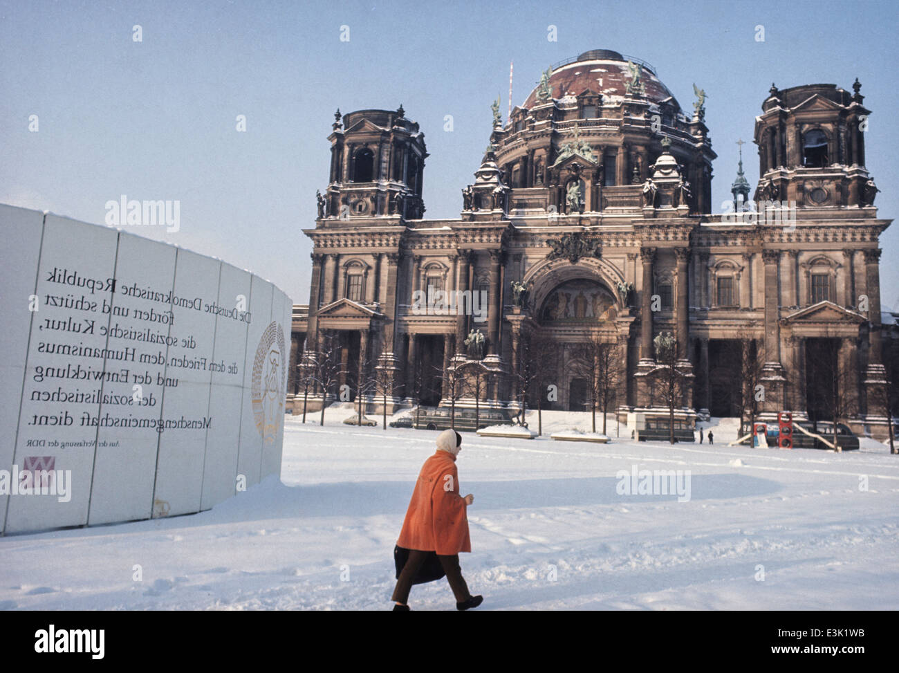 reichsstadt,east berlin,east germany,70's - Stock Image